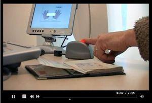 La carte d'embarquement biométrique testée chez Air France (reportage filmé)