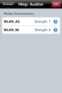 iWep, pour craquer une clef WiFi avec son iPhone