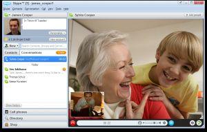 Skype débarque sur les TV de Panasonic et de LG pour de la visio conférence à petit prix