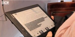 CeBit : Asus présente son premier e-Book