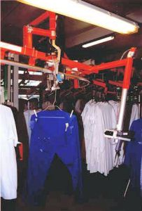 La blanchisserie inter hospitalière de Pau trace le linge avec du RFID