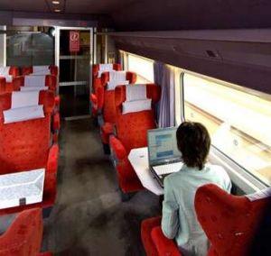 La SNCF propose une offre internet et vidéo sur PC sur le TGV Est