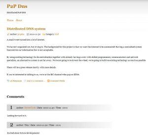 Vers un DNS P2P pour échapper à la main-mise américaine sur Internet