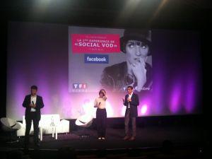 TF1 lance la VOD sociale en partenariat avec Facebook