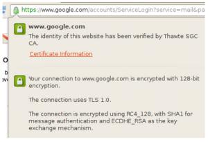 Google renforce sa sécurité HTTPS