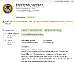 Le FBI veut son application pour espionner les réseaux sociaux