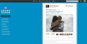 Twitter inondé par la réélection de Barack Obama