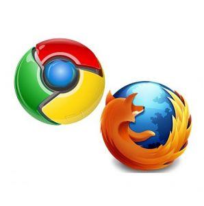 Chrome et Firefox au coude à coude face à Internet Explorer