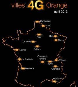 La 4G d'Orange ouverte à Paris