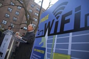 New York doté de 2000 hots spots Wifi payés par la publicité avec Gowex