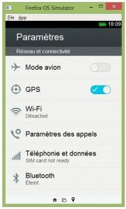 Simuler une application sous Firefox OS