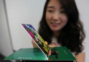 LG présente le futur écran ultra-plat des smartphones haut de gamme