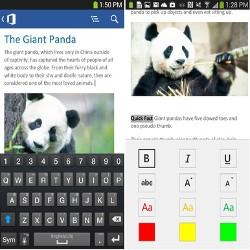 Office arrive sur les smartphones Android