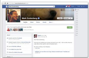 Mark Zuckerberg victime d'un chasseur de bug qu'il ne voulait pas écouter