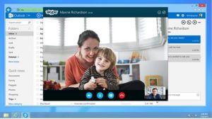 Outlook.com intègre désormais Skype aussi en France