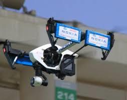 Nokia utilise des drones pour tester des réseaux mobiles
