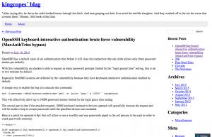 Une faille OpenSSH expose les serveurs aux attaques par force brute