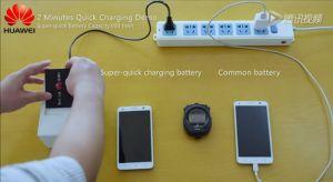 Huawei invente une batterie qui recharge votre smartphone à moitié de sa capacité en seulement cinq minutes