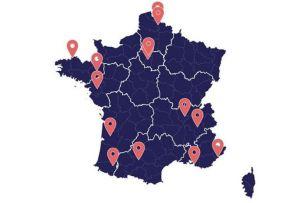 L'Arcep publie la carte des expérimentations 5G en France