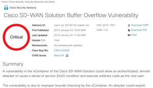 Cisco publie 20 patch avant CiscoLive