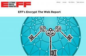 L'EFF pousse à un cryptage global de l'Internet