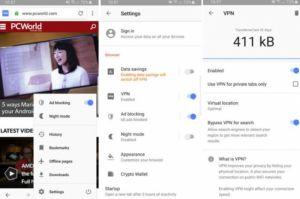 VPN gratuit : Opera fait son come-back sur Android