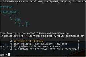Metasploit, un framework de test d'intrusion détourné pour pirater