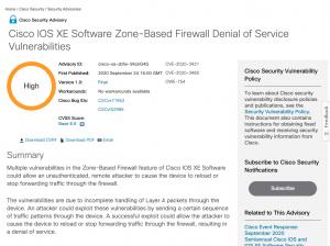 Des mises à jour urgentes pour Cisco IOS et IOS XE