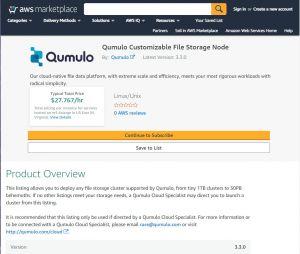 Après GCP, Qumulo Cloud Q arrive sur AWS