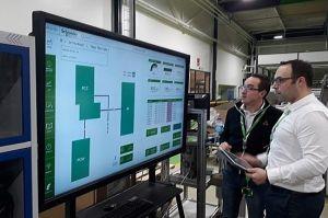 Un réseau privé 4G/5G dans une usine Schneider Electric normande