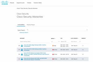3 failles critiques corrigées dans Cisco IOS XE